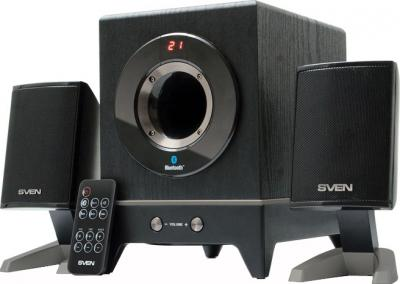 Мультимедиа акустика Sven MS-350BL (черный) - общий вид