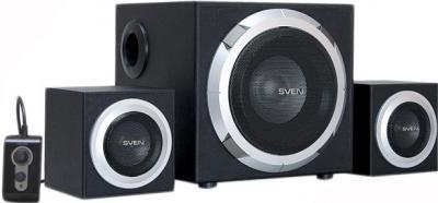 Мультимедиа акустика Sven MS-330 (черный) - общий вид