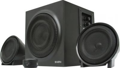 Мультимедиа акустика Sven MS-308 (черный) - общий вид