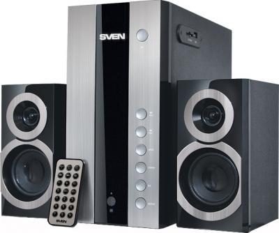 Мультимедиа акустика Sven MS-1090 (черный) - общий вид