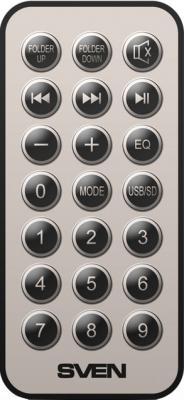 Мультимедиа акустика Sven MS-1090 (черный) - пульт ДУ