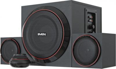 Мультимедиа акустика Sven MS-1080 (черный) - общий вид