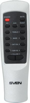 Мультимедиа акустика Sven MS-1060R (черный) - пульт ДУ