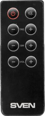 Мультимедиа акустика Sven MS-106 (черный) - пульт ДУ