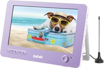 Портативный DVD-плеер BBK PL1041T (Lilac) - общий вид