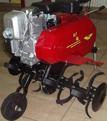Мотокультиватор Meccanica Benassi RL7 (двигатель Honda GC160) - вид сбоку