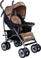 Детская прогулочная коляска Caretero Spacer (Beige) -