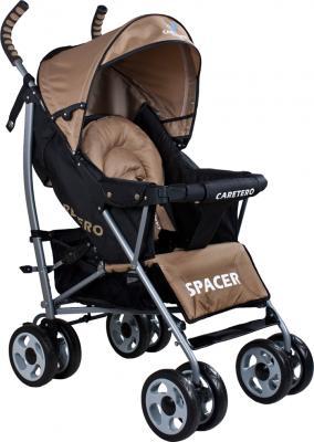 Детская прогулочная коляска Caretero Spacer (Beige) - общий вид