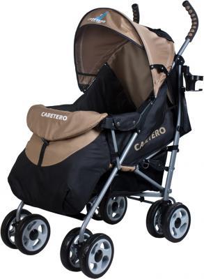 Детская прогулочная коляска Caretero Spacer (Beige) - чехол для ног