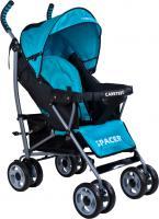 Детская прогулочная коляска Caretero Spacer (Blue) -