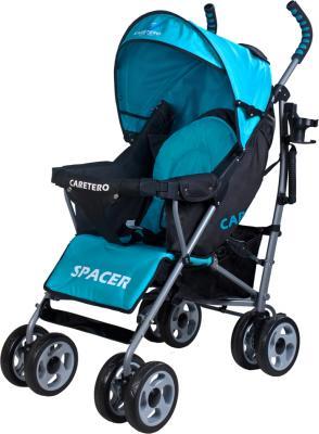 Детская прогулочная коляска Caretero Spacer (Blue) - общий вид