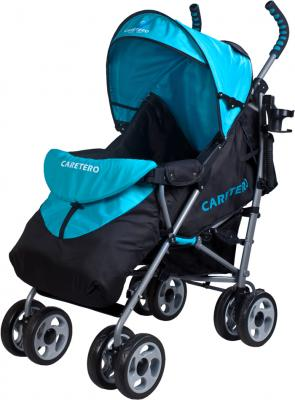 Детская прогулочная коляска Caretero Spacer (Blue) - чехол для ног