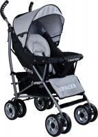 Детская прогулочная коляска Caretero Spacer (Gray) -