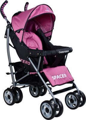Детская прогулочная коляска Caretero Spacer (Pink) - общий вид