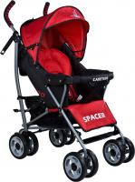 Детская прогулочная коляска Caretero Spacer (Red) -