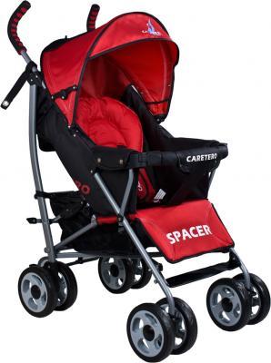 Детская прогулочная коляска Caretero Spacer (Red) - общий вид