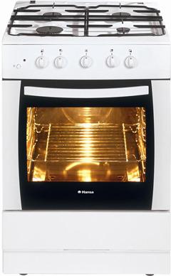 Кухонная плита Hansa FCMW61001010 - общий вид