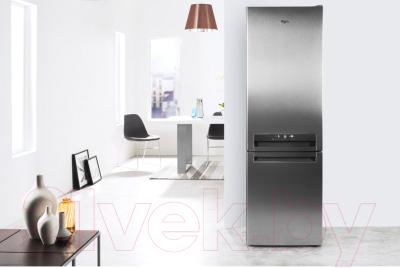 Холодильник с морозильником Whirlpool BSNF 9782 OX