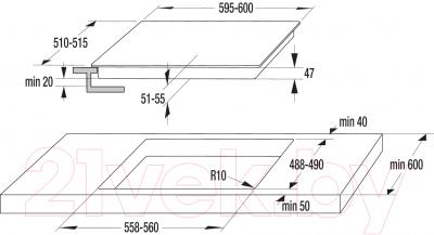 Электрическая варочная панель Gorenje ECT620SC