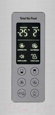 Холодильник с морозильником LG GW-B489SMQL