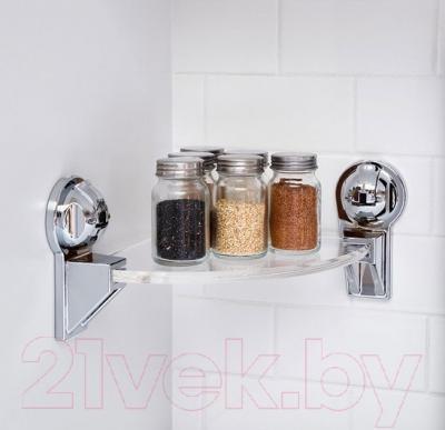 Полка для ванной Feca 426211-9011 - в интерьере