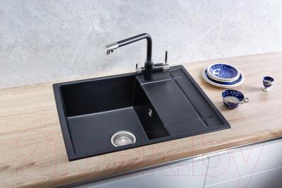Мойка кухонная Granula GR-6501 (черный)