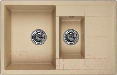 Мойка кухонная Granula GR-7802 (жасмин)