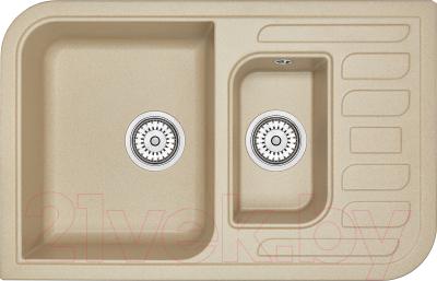 Мойка кухонная Granula GR-7803 (песочный)