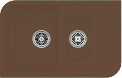 Мойка кухонная Granula GR-7803 (шоколад) - реальный цвет модели может немного отличаться