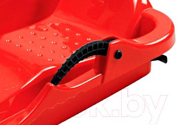 Санки детские AlpenGaudi Spider 991202 (красный) - ручной тормоз