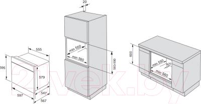 Электрический духовой шкаф Gorenje BO635E31XG-2