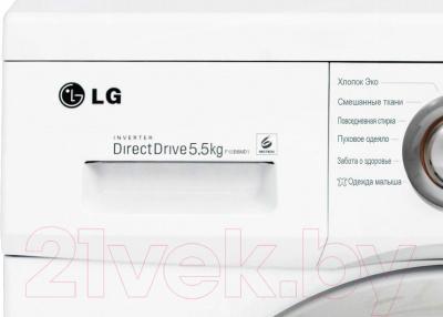 Стиральная машина LG F12B8MD1 - передняя панель