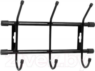 Вешалка для одежды Ника ВН3 (черный) - цвет: черный