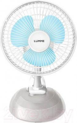 Вентилятор Lumme LU-109 (бело-голубой)