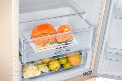 Холодильник с морозильником Samsung RB37J5371EF