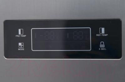 Холодильник с морозильником Candy CXSN 171 IXH (34002100)