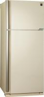 Холодильник с морозильником Sharp SJ-XE59PMBE -