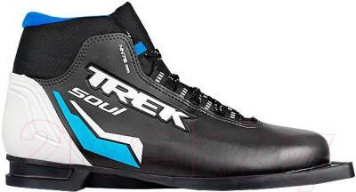 Ботинки для беговых лыж TREK Soul ИК NN75 (черный, размер 45) - общий вид