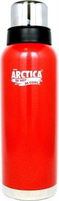 Термос для напитков Арктика 106-1200 (красный)