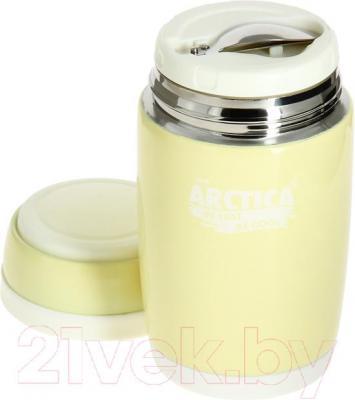 Термос для еды Арктика 409-580 (топленое молоко) - складная ложка