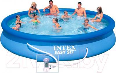 Надувной бассейн Intex Easy Set 28158NP (457x84)