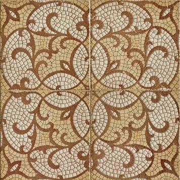 Декоративная  плитка для пола Imola Ceramica Панно Ros. Etnea New B (666x666)