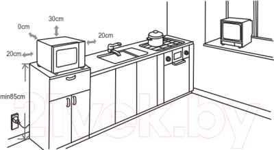 Микроволновая печь Gorenje MO6240SY2B
