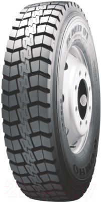 Всесезонная шина Kumho KMD01 315/80R22.5 156/150K (задняя)