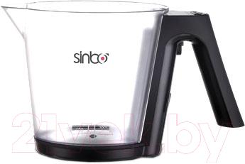 Кухонные весы Sinbo SKS-4516 (черно-белый)