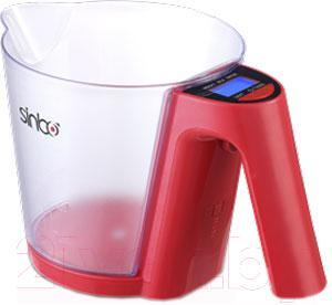 Кухонные весы Sinbo SKS-4516 (красный)
