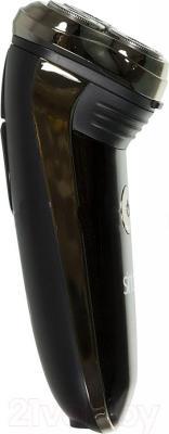 Электробритва Sinbo SS-4039 (серебристо-черный) - вид сбоку