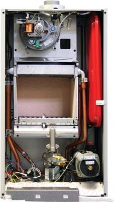 Газовый котел Baxi MAIN 5 24 F - вид сзади