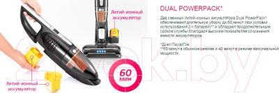 Вертикальный портативный пылесос LG VSF8403SCWB - преимущества модели
