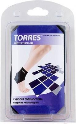 Суппорт голеностопа Torres PRL6007L (черный)